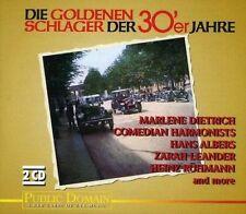 Die goldenen Schlager der 30'er Jahre Willy Fritsch, Marlene Dietrich, .. [2 CD]