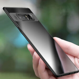 Ultra thin Slim Clear Shockproof Bumper Case Cover For Samsung Note 8/ S9 Plus