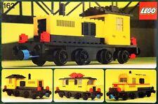 Lego Trains 4.5V 162 Locomotive without Motor NEW SEALED 1977
