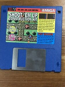 CU-Amiga-Magazine-Cover-Disk-72-Shoot-Em-Up-Construction-Kit-TESTED-WORKING