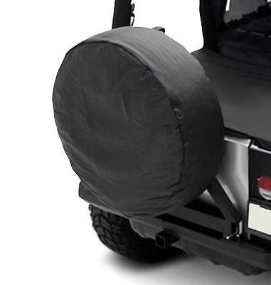 "Tire Cover Black Diamond 33-35/"" Tire for Jeep CJ Wrangler Rough Trail TC333535"