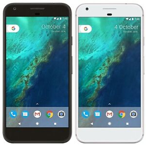 Google-Pixel-32GB-FACTORY-UNLOCKED-5-0-034-FHD-4GB-RAM-Quite-Black-Very-Silver
