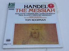 HANDEL SEALED Messiah MINT Ton Koopman PROMO 3 lps Box set Amsterdam Baroque