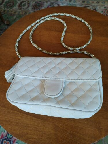 i magnin quilted leather bag