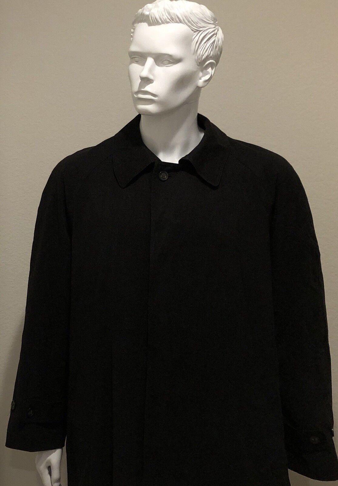 RALPH LAUREN POLO UNIVERSITY CLUB Men's Trench Coat Overcoat Double Breasted 44R
