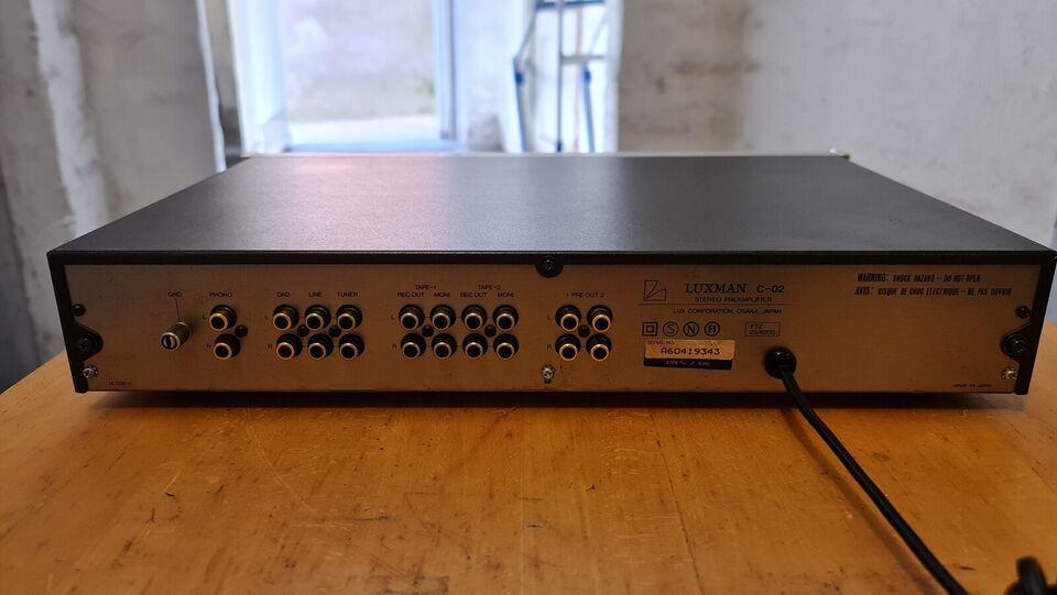 Forforstærker, Luxman, C0-2