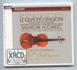 034-Vivaldi-The-Four-Seasons-034-Salvatore-Accardo-JVC-Japan-XRCD-XRCD2-CD-New-Sealed