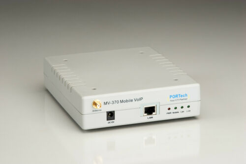 Portech MV-370 VoIP to Cellular Gateway AUTHORIZED DISTRIBUTOR 2G//3G//UMTS