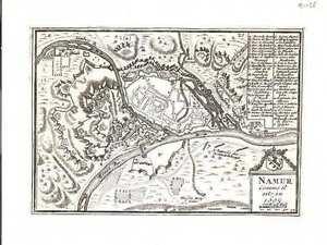 Antique-map-Namur-Comme-il-est-en-1695