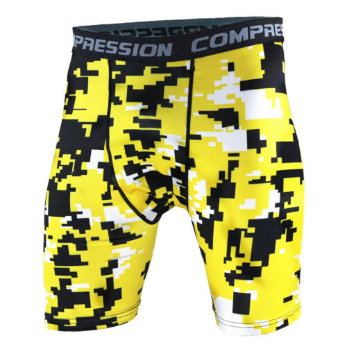 Men/'s Compression Shorts Running Basketball Tights Gym Athletic Trunks Dri-fit