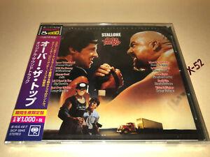 Stallone-OVER-THE-TOP-soundtrack-CD-JAPAN-Sammy-Hagar-Robin-Zander-Eddie-Money