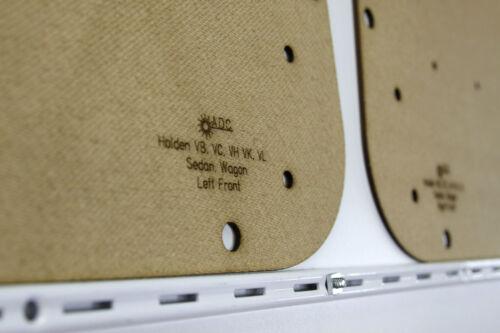 NEW Holden Commodore VB VC VH VK VL Sedan /& Wagon Trim Panels. Door Cards