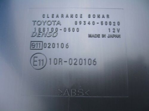2004 2005 2006 Lexus LS430 CLEARANCE WARNING COMPUTER 89340-50020 OEM