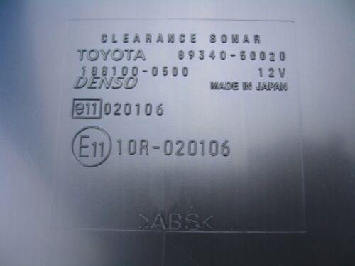 2004 2005 2006 Lexus LS430 CLEARANCE WARNING COMPUTER 89340-50020 OEM