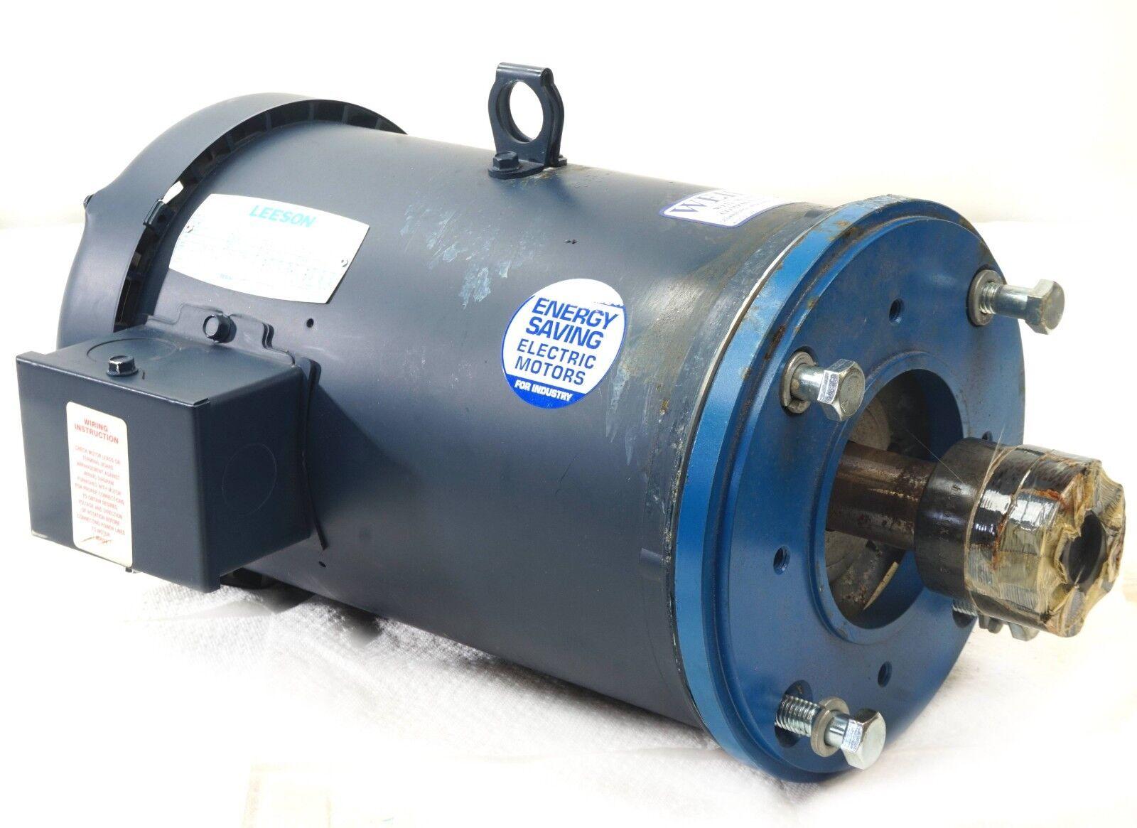 leeson motor 7.5 hp