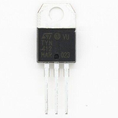 10PCS TYN412 ST TO-220 12A400V IC