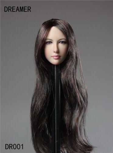 Dreamer DR001 1//6 Escala Beleza Headplay Jade Dynasty Fêmea Cabeça Esculpida