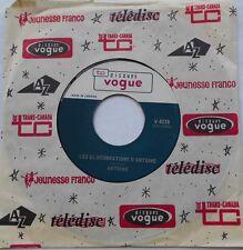ANTOINE Les elucubrations / Qu'est-ce qui...NM- CANADA ORIG 1966 VOGUE FRENCH 45