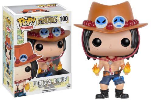 One Piece Funko POP Ace Vinyl Figure #100 Anime Portgas D