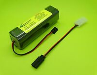 2500ma Transmitter Tx Battery Replaces Futaba Nt8s700b / 2508b-33j / Made In Usa