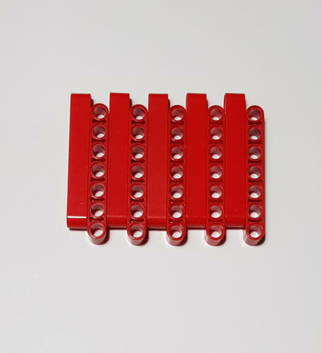 10x Lego Technic Liftarme 1 x 7 rot 32524 Technic 1x7 4162098 4495933