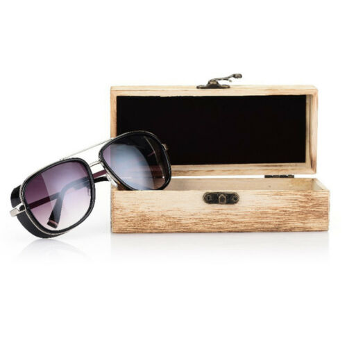 Unisex Handmade Glasses Box Natural Wood Retro Bamboo Sunglasses Protection Case