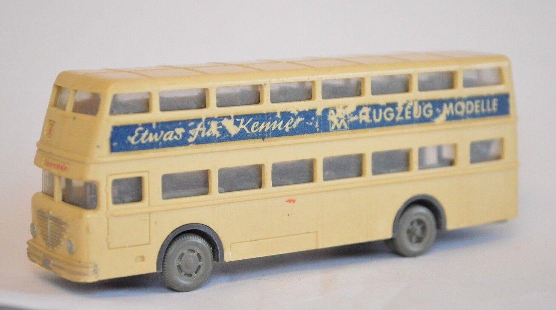 Wiking doppeldeckerbus qualcosa per Kenner GRIGIA PNEUMATICI Congresso Halle scomparto a4
