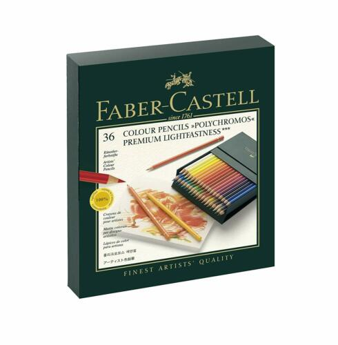 Faber-Castell Polychromos Coloured Pencils Gift Box x 36 Colours