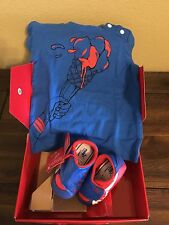 New PUMA Crib Baby Shoes And T-shirt Size 4 (9-12 Months)