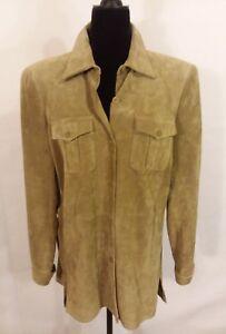 Soft Suede Jacket Liz Camel Claiborne Y5vqP