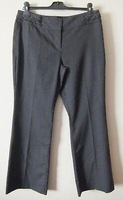 FäHig Ladies Grey Trousers Size 12s By Per Una Geschickte Herstellung