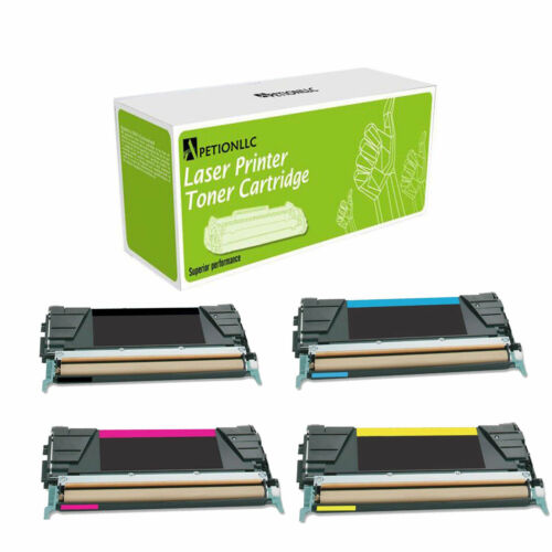 C746A1CG MG YG Made in USA Toner For Lexmark C746 Remanufactured C746H1KG HY