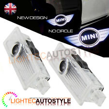 COPPIA di BMW MINI LED Car Logo PORTA LUCE FANTASMA OMBRA PROIETTORE LASER Puddle