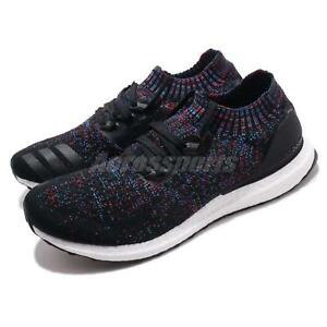 best authentic 42daa a8569 Details about adidas UltraBOOST Uncaged Black Active Red Blue Men Women  Running Shoes B37692
