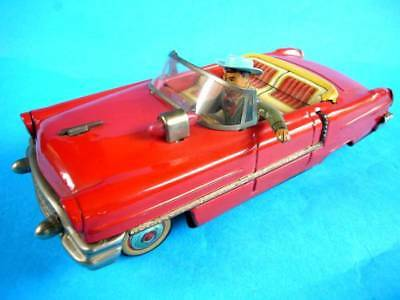 Temperamentvoll Yoshiya Vintage Blech Spielzeug Elektromotor Offen Auto Hand Richtung Indikator Dinge Bequem Machen FüR Kunden Spielzeug Autos & Lkw