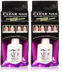 2 pack of Dr. G\'s Clear Nail Antifungal Treatment, 0.6oz   eBay