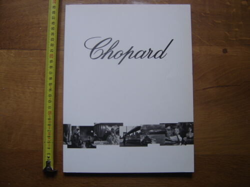 Catalogue Brochure THE WORLD OF CHOPARD Geneve 27 BIJOUX MONTRES