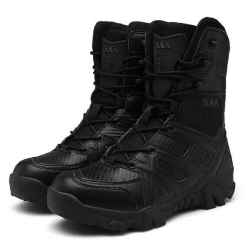 Soldier Mens Combat Waterproof Army Military Tactical Boots Hiking Walking Shoes