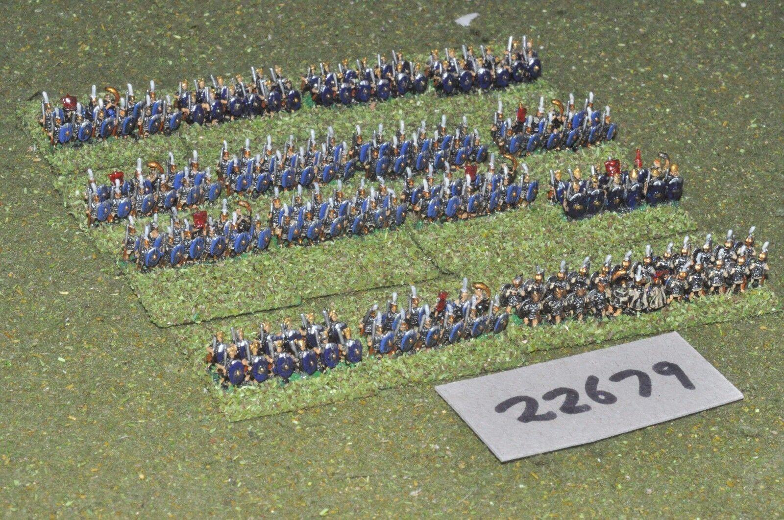6mm época Romana romana temprana legionarios 190 figuras-INF (22679)