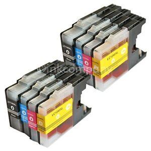 8-Cartucce-Compatibile-con-Brother-LC1240-XL-Stampante-J525W-J725DW-J925DW-MFC