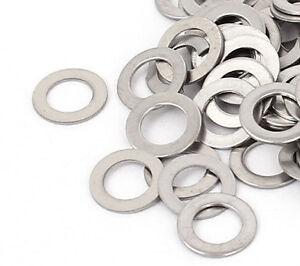 DéTerminé Rondelles Plates Acier Fines Inoxydable M5 X 9mm X 0.5mm - 10 PiÈces
