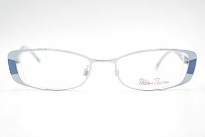 Appena Vintage Paloma Picasso 18561 49 [] 18 135 Blu Ovale Occhiali Montatura Nos-mostra Il Titolo Originale Prezzo Di Vendita Diretto In Fabbrica