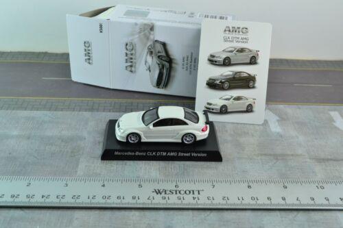 Kyosho Mercedes Benz CLK DTM AMG Street Version White Diecast Car 1//64 S485