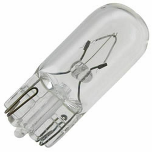 10 REPLACEMENT BULBS FOR GE 591 3.36W 14V
