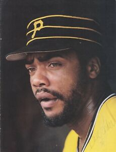 Dave Parker Signed Magazine Page Auto with B&E Hologram
