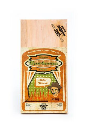 AXTSCHLAG Räucherbretter 300x150x11MM 3er pack erle wood plank alder