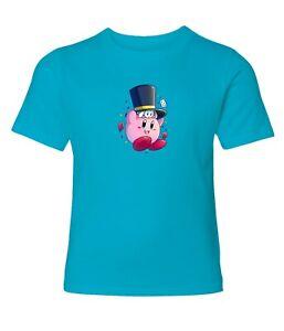 Nintendo-Super-Star-Kirby-Magic-Men-Women-Video-Game-Crew-Neck-Unisex-T-Shirt