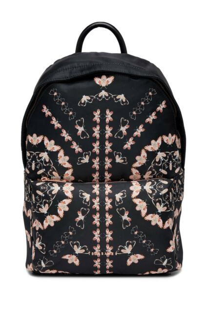 e76121f59918df Buy Ted Baker London Eartha Queen Bee Nylon Backpack Black online