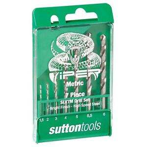 SUTTON-VIPER-HSS-DRILL-SET-METRIC-7-PC-SUTTON-TOOLS-METAL-WOOD-PLASTIC
