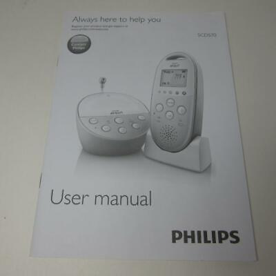 BRAND NEW Philips Avent DECT Audio Baby Monitor SCD570